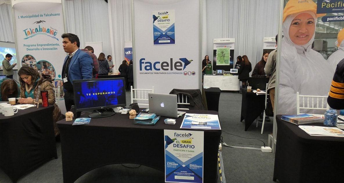 Facele presente en la Feria de Innovación y Tecnología de INACAP Sede Concepción