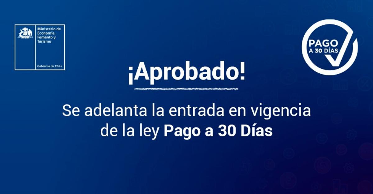 Ley de Pago a 30 días